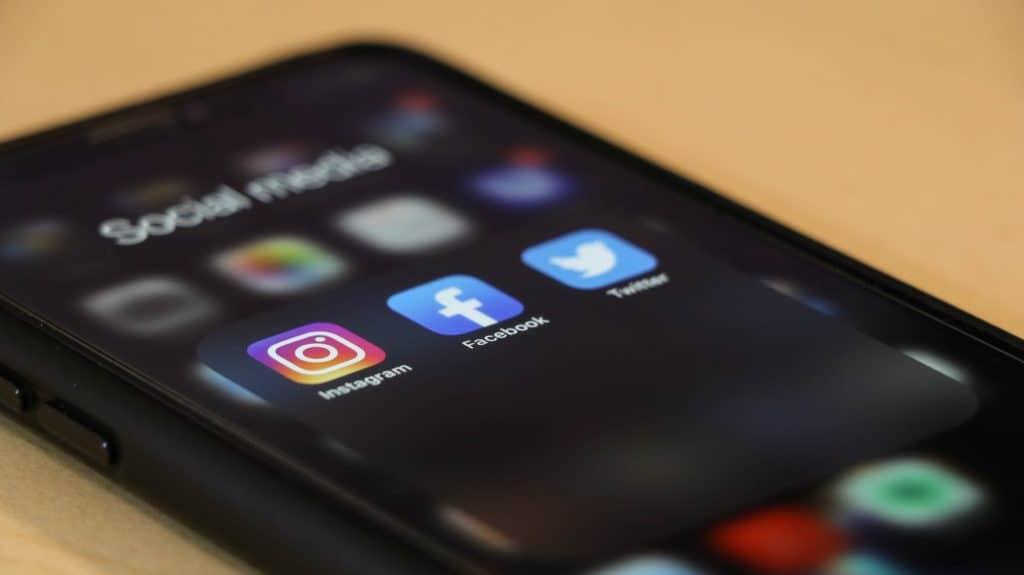 social medias portfolio