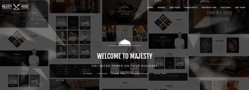 Majesty Restaurant Theme