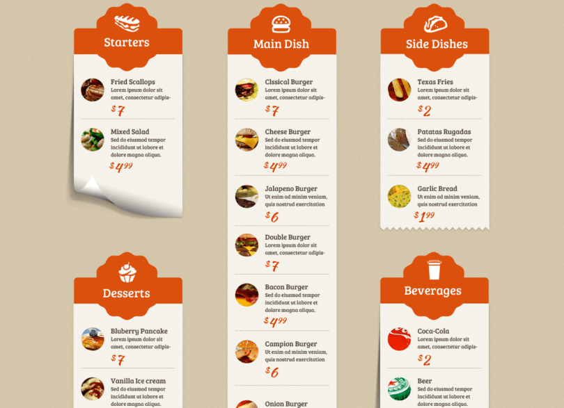 Food Truck & Restaurant 10 Styles