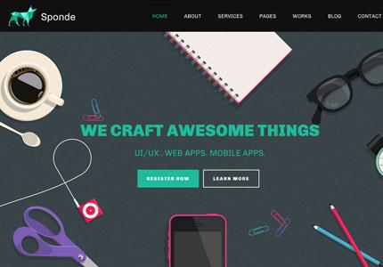 Web Design Themes And Templates Webdesign Inspiration Com