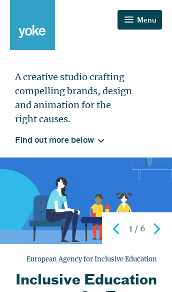 Yoke, Ethical Design, Brand and Animation Studio in Bristol  Web Design