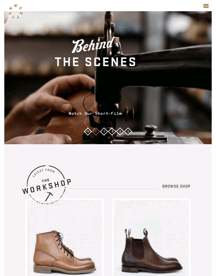 Wootten | Cordwainer and Leather Craftsmen, Custom handmade shoes, bags  Web Design