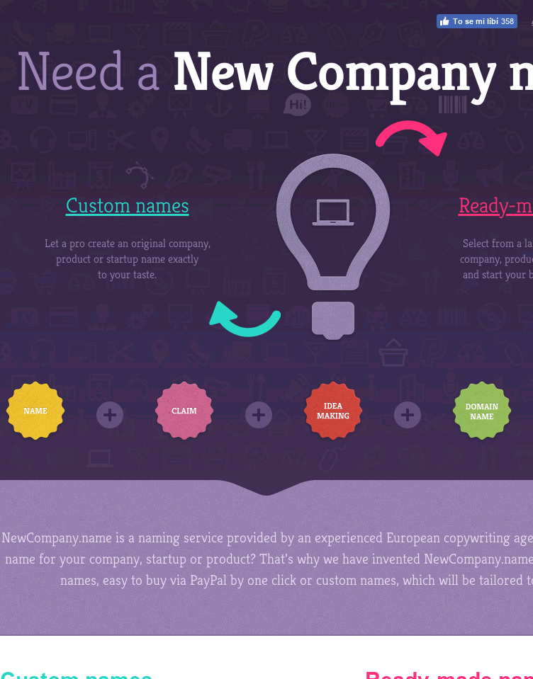 NewCompany.name  Web Design
