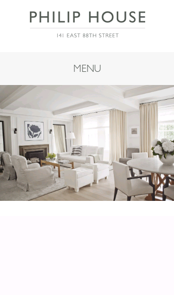 Home - Philip House  Web Design
