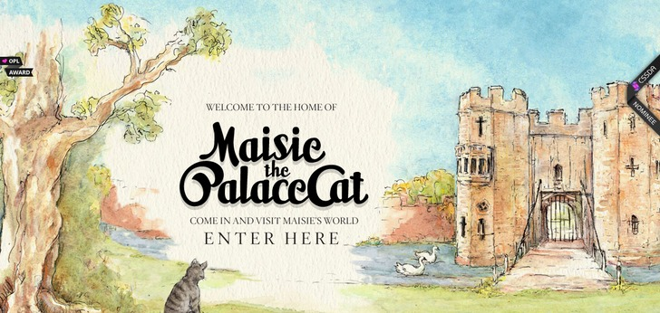 Maisie The Palace Cat