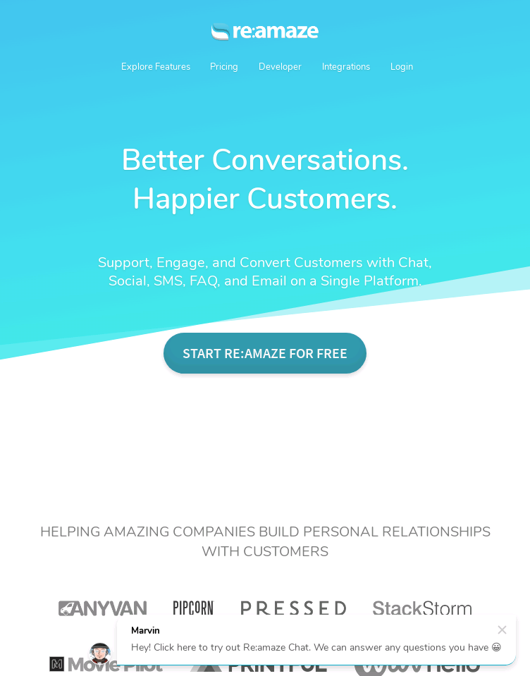 Reamaze  : Helpdesk Done Right | Better Conversations. Happier Customers  Web Design