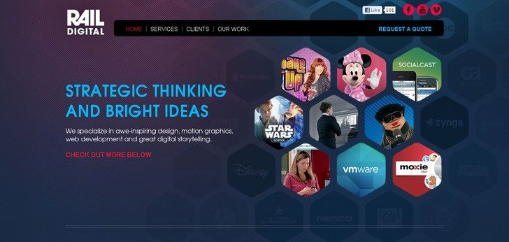 rail digital - Great Website Design Ideas