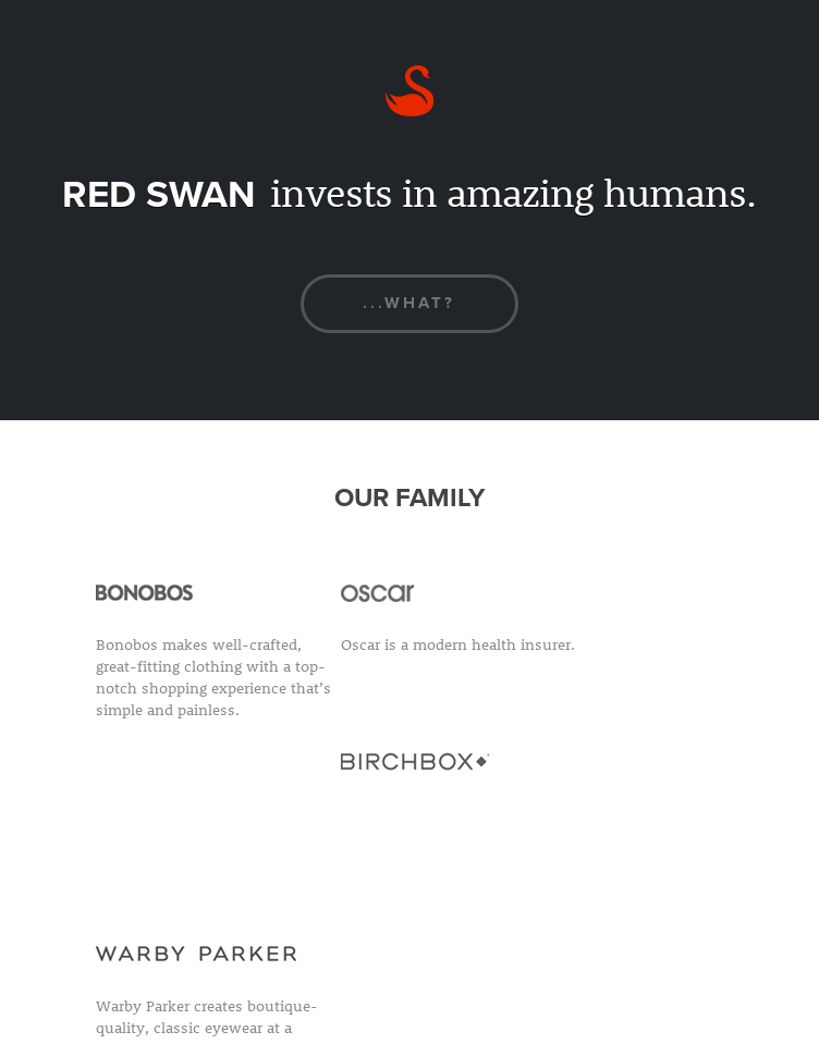 Red Swan  Web Design