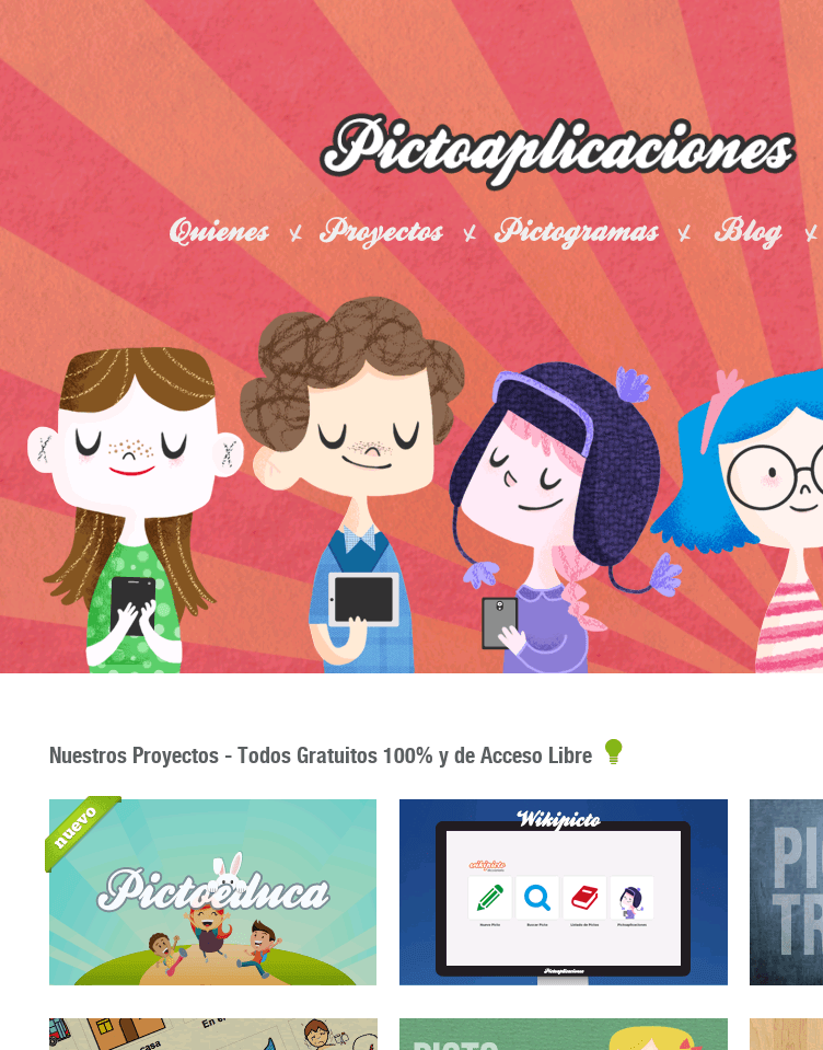 Pictoaplicaciones  Web Design