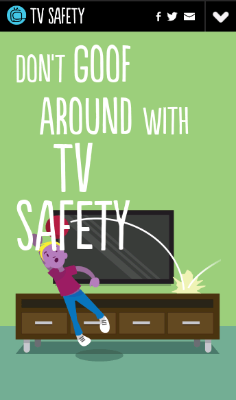 tvsafety.org  Web Design