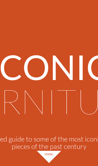 ICONIC FURNITURE - LLI Design  Web Design