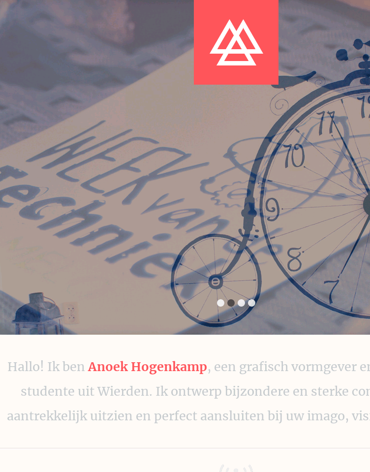 Anoek Hogenkamp  Web Design