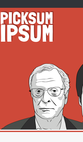 Picksum Ipsum - Movie Lorem Ipsum Text Generator Alternative  Web Design