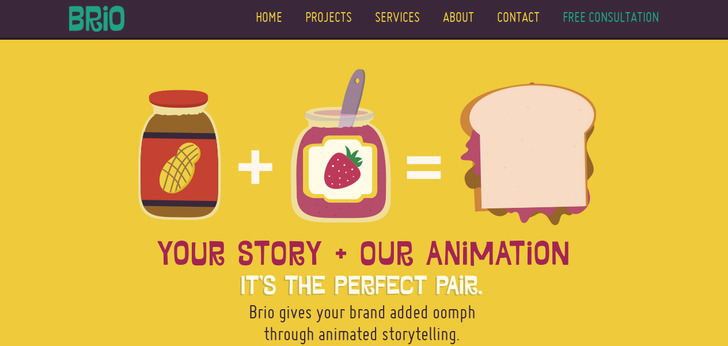 Brio: Animated explainer videos, animation for the web and TV