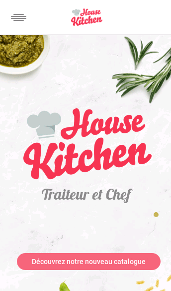 House Kitchen  Web Design