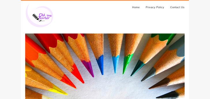 The Old Barber Shop website has a Great Web Design | Best Web Designs