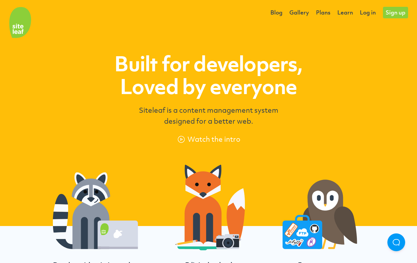 Siteleaf - A friendly CMS for your static site