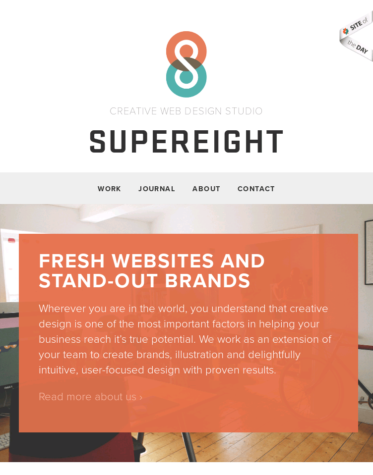 Supereight Studio  Web Design