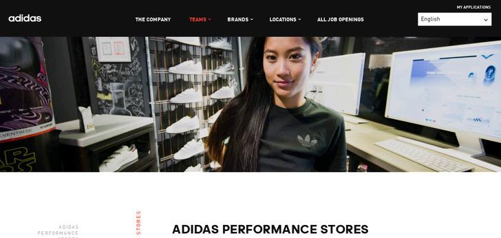 adidas career