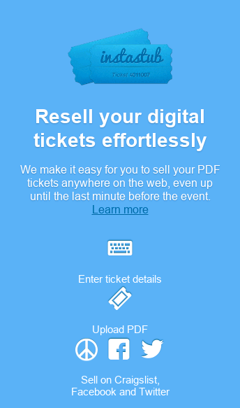 Sell Tickets with Ease  Web Design