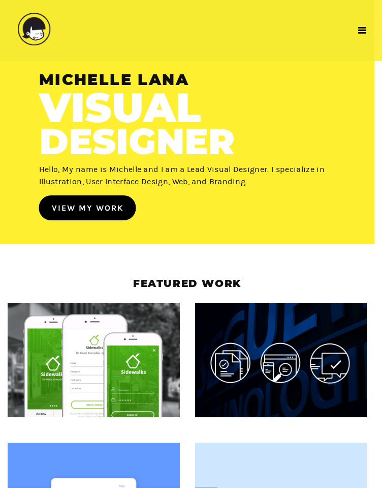 Michelle Lana  Web Design