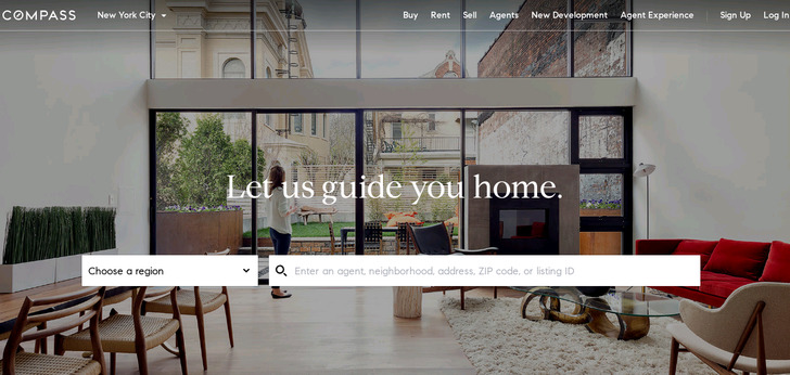 Apartment Website Design Urban Compass Website Has A Great Web Design  Best Web Designs