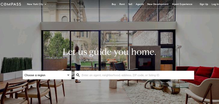 Urban Compass Website Has A Great Web Design Best Web Designs New Apartment Website Design
