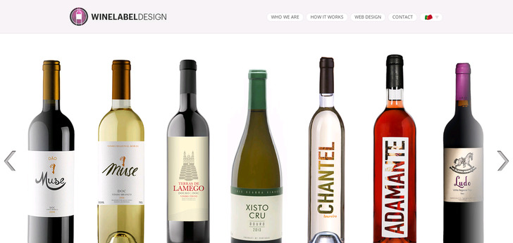 Wine Website Design Inspiration