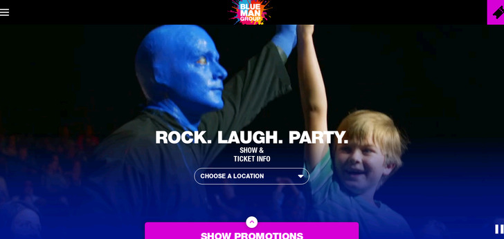 Official Blue Man Group