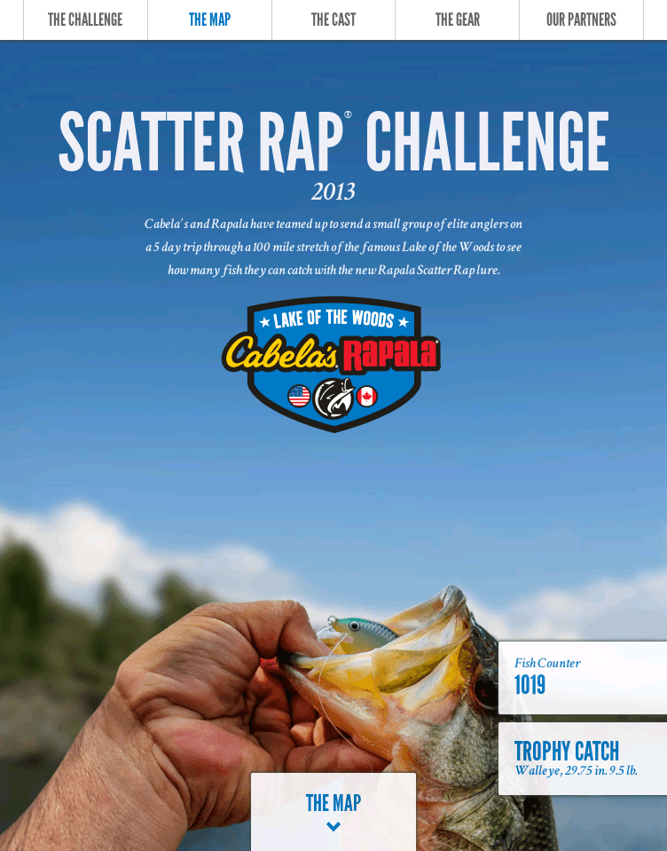 Scatter Rap Challenge 2013  Web Design