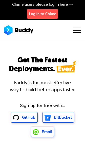 Buddy DevOps Automation Platform  Web Design