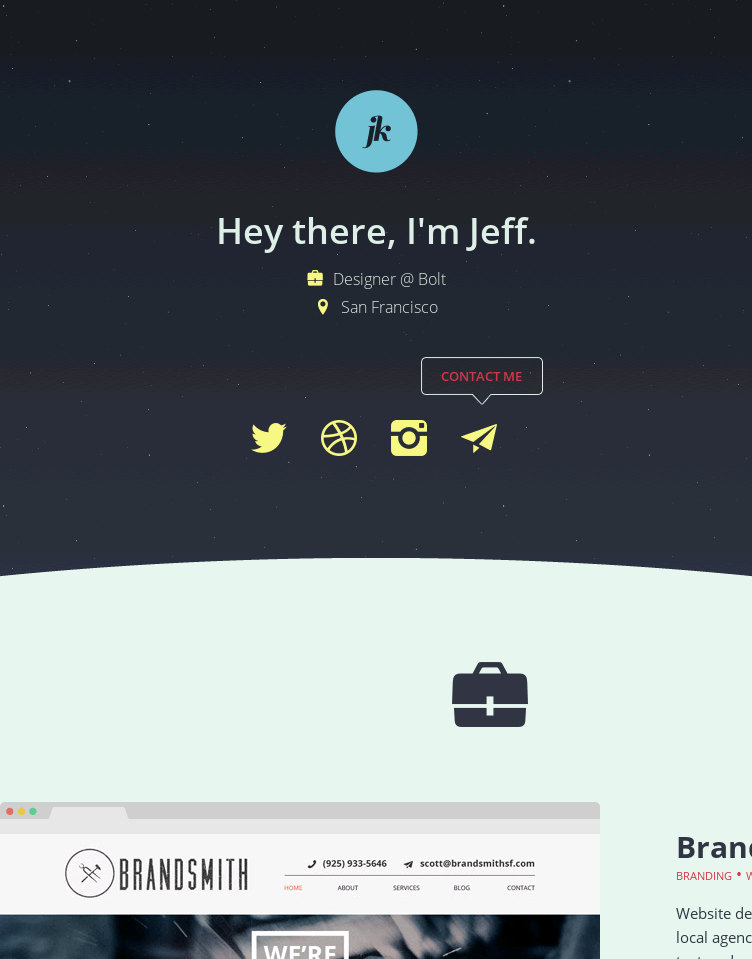 Jeffrey Kam  Web Design