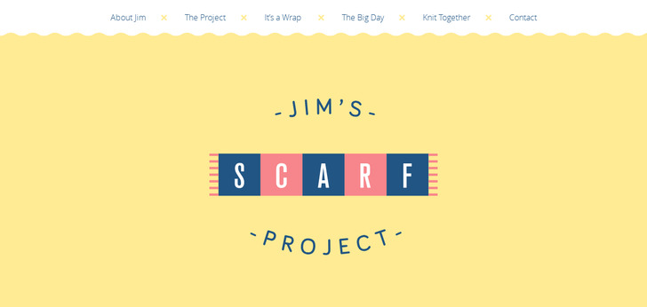 Jim's Scarf Project