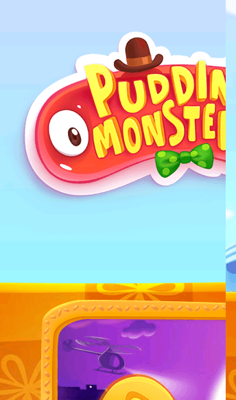 Pudding Monsters  Web Design