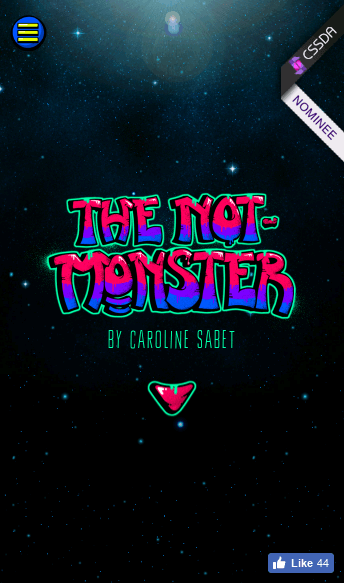 The Not-Monster  Web Design