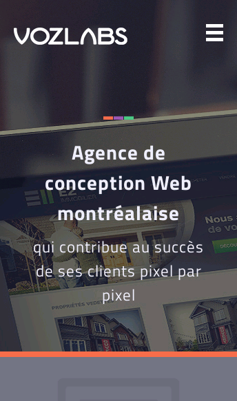 Agence Voz Labs  Web Design