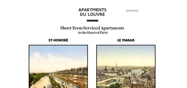 Apartments Du Louvre