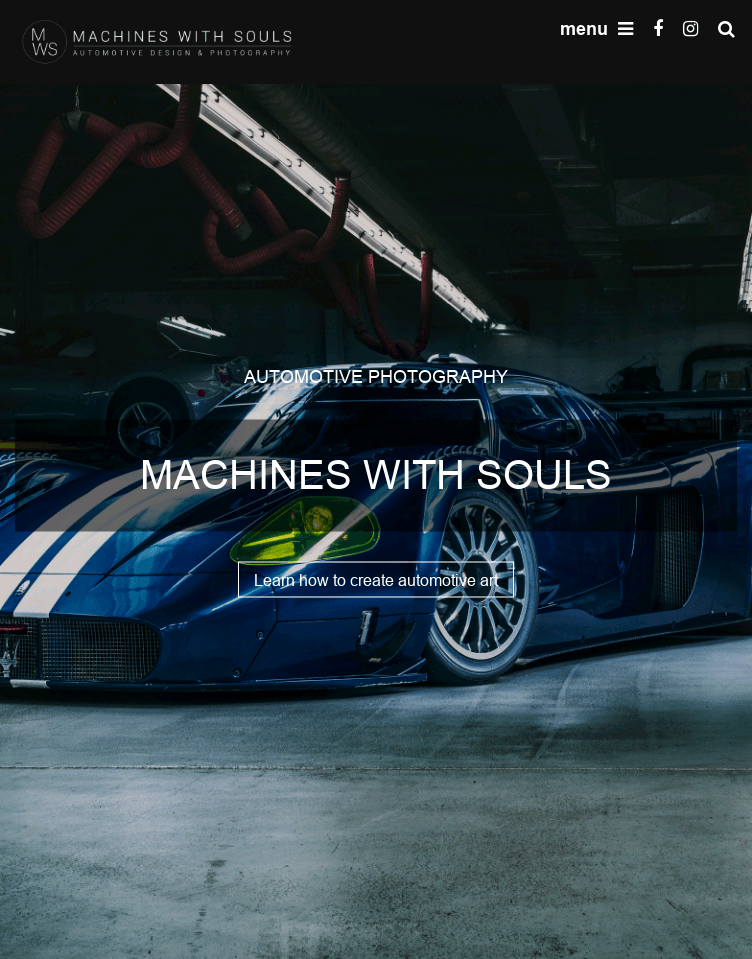 Machines With Souls  Web Design