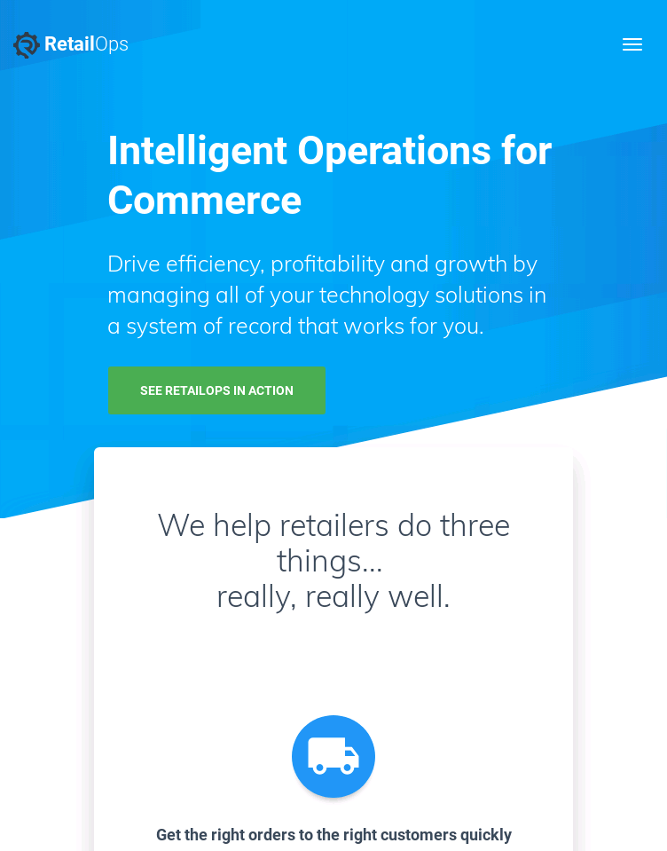 RetailOps  Web Design