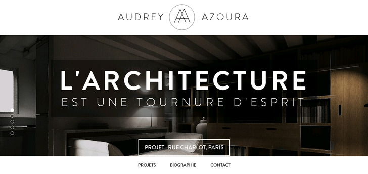 Audrey azoura architecte d int rieur paris website has for Architecte interieur paris