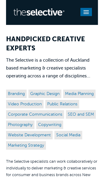 The Selective  Web Design