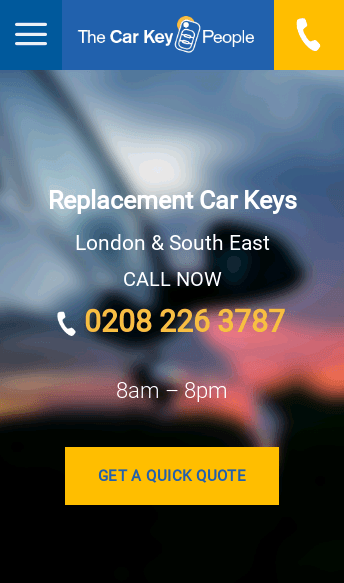 The Car Key People  Web Design