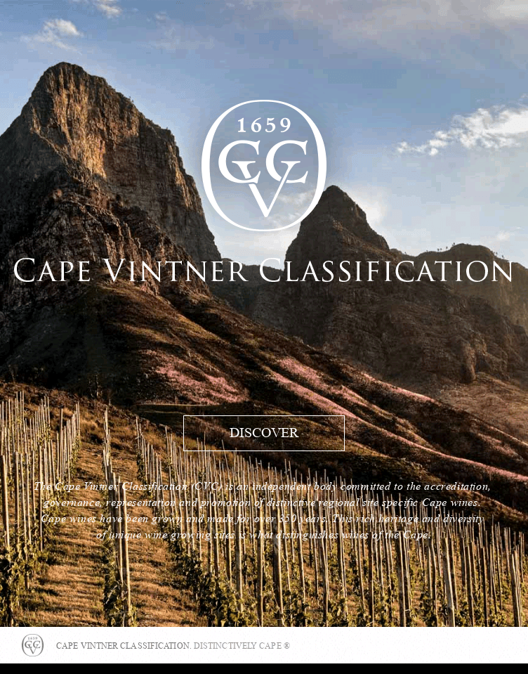 Cape Vintner Classification  Web Design