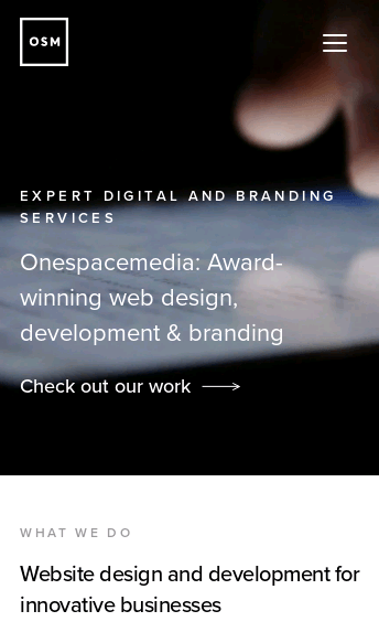 Onespacemedia  Web Design