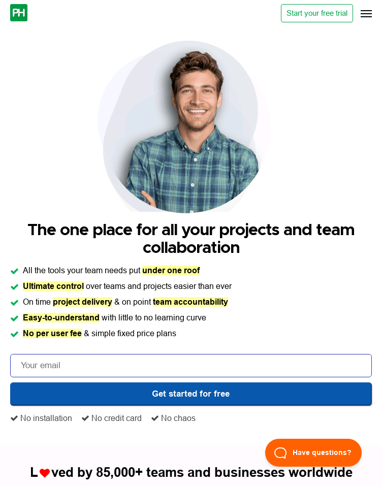 ProofHub Project Planning Software  Web Design