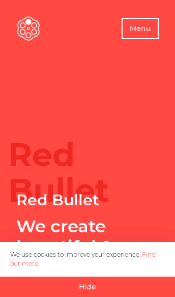 Red Bullet  Web Design