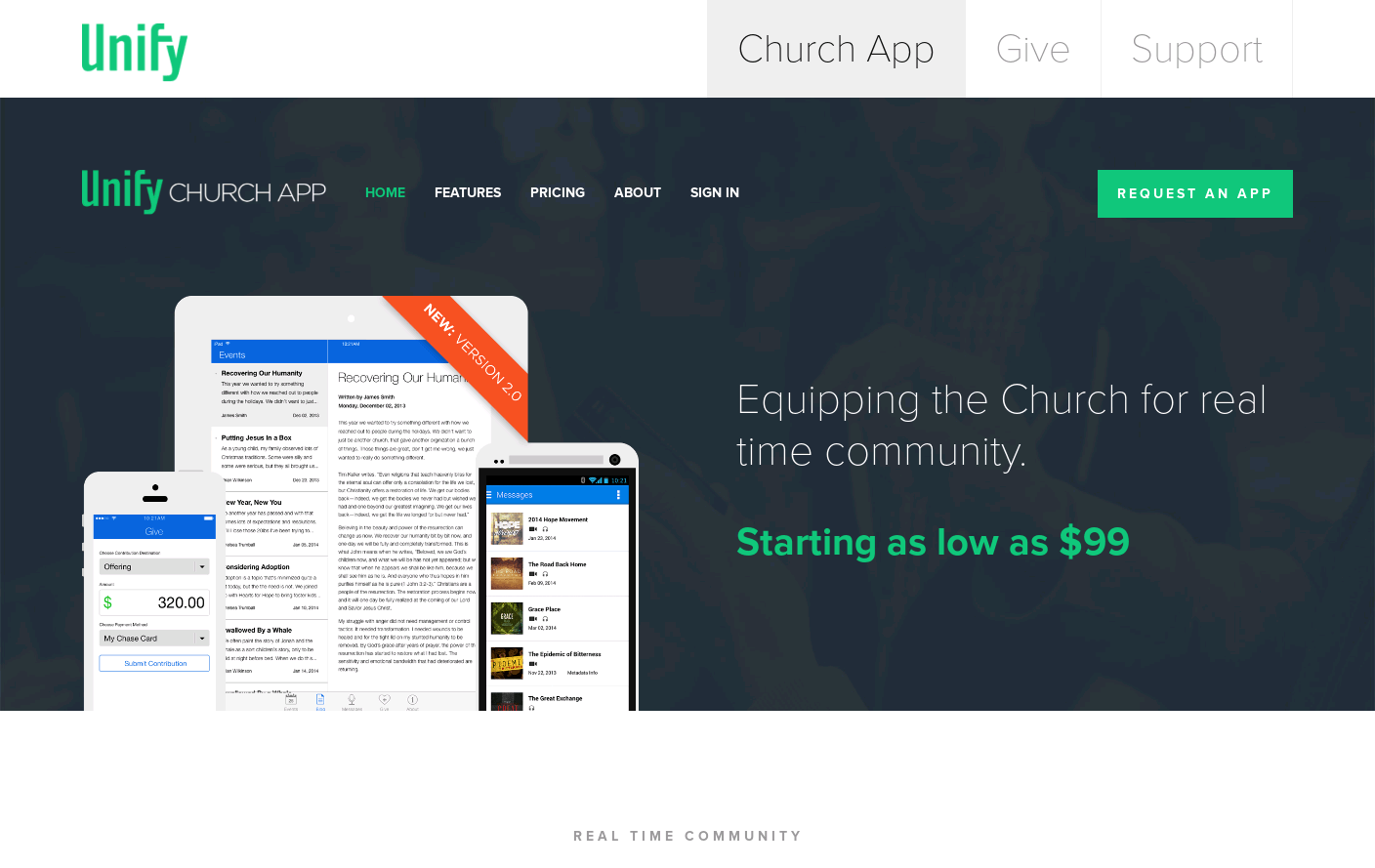 Unify: Church App