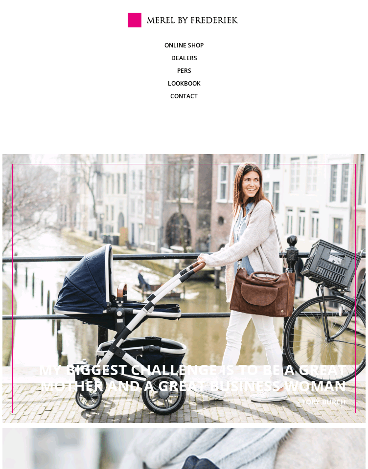 Merel by Frederiek  Web Design