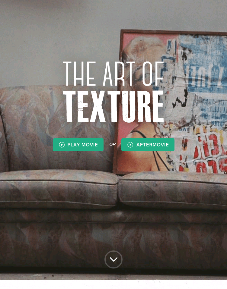 The Art Of Texture  Web Design