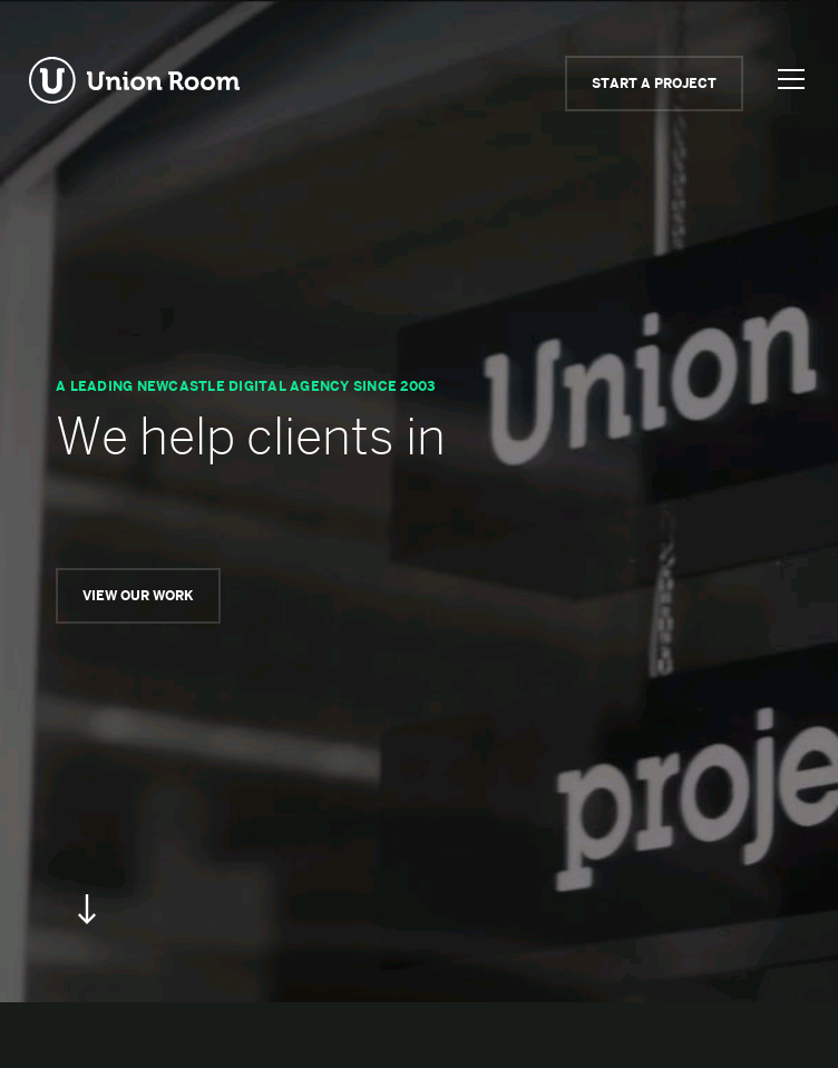 Union Room  Web Design